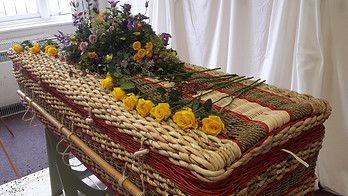 Holly's Funerals funeral at village hall