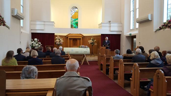 Holly's Funerals crematorium funeral