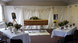 Holly's Funerals Village hall funeral