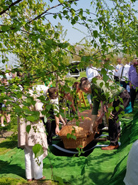Holly's Funeral natural burial