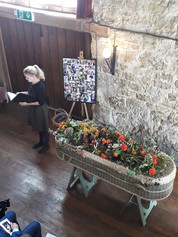 Holly's Funerals Barn Funeral