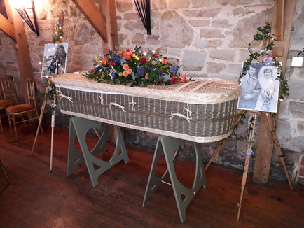 Holly's Funerals, Barn Funeral