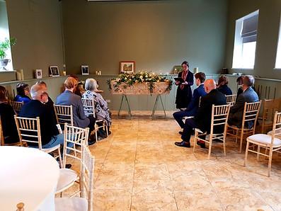 Holly's Funerals at The Secret Garden funeral in Ashford, Kent