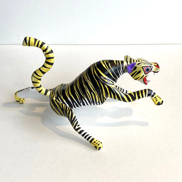 OAXACAN TIGER CARVING