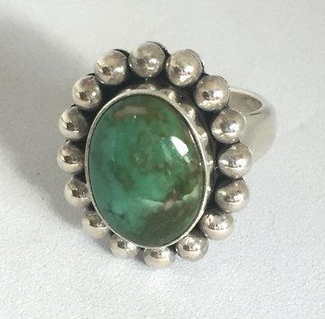 Artie Yellowhorse Turquoise Ring