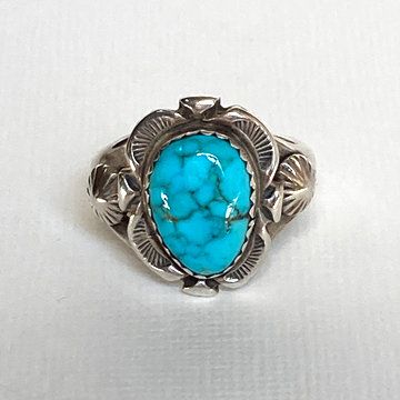 SMALL TURQUOISE RING