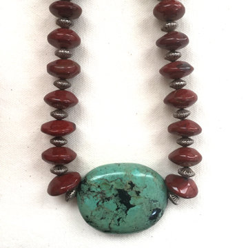 Santo Domingo Pueblo Necklace