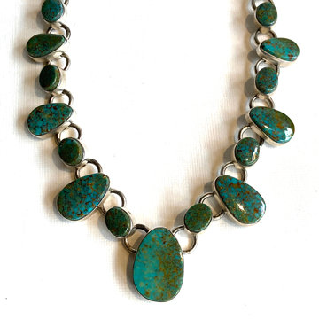 NEVADA TURQUOISE LINK NECKLACE