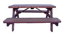 Sunburst Wooden Picnic Table Small2.jpg