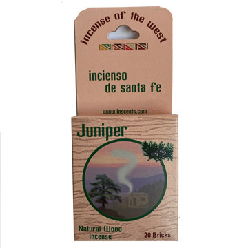 INCENSE OF THE WEST - SMALL BOX (4 SCENTS)