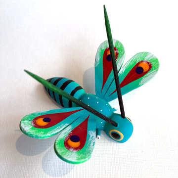 OAXACAN DRAGONFLY CARVING