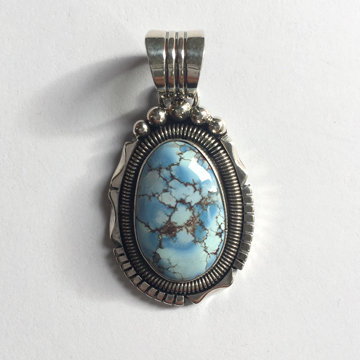 GOLDEN HILLS TURQUOISE PENDANT (WD)