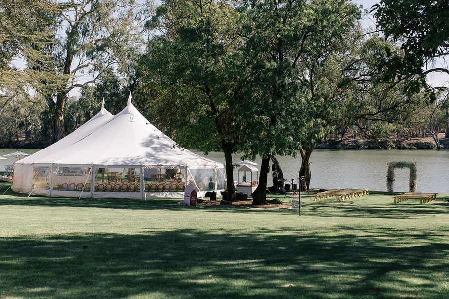 Two Post Hamptons Tent