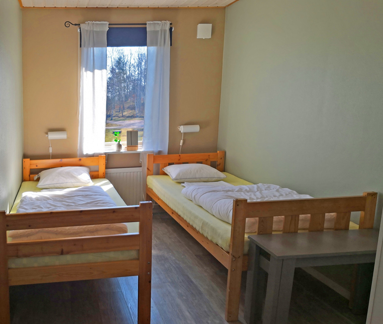 The two-bed rooms