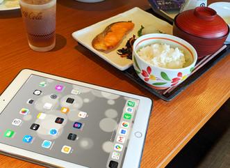デニーズの朝食で7SPOT(Wi-Fi)を