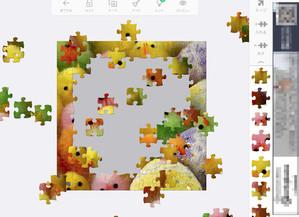 脳活性ゲームアプリ「ジグソーパズル」
