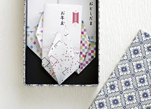 それぞれのレベルで楽しめます♪折り鶴のぽち袋