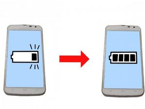 スマートフォンの充電をちょっと考えてみた