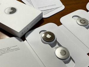 Appleの忘れ物防止AirTag(エアタグ)注文してみました