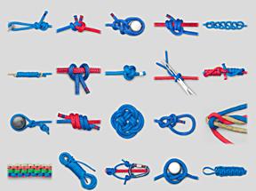 アニメーションで学べる紐結び