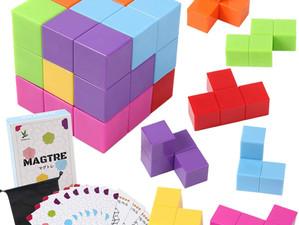 VRゴーグルで立体パズル「Cubism」