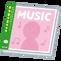 パソコンに音楽CDを取り込んで「music.jp」