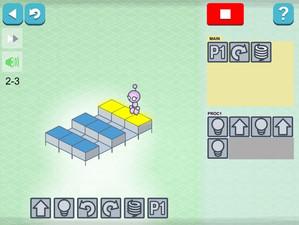 子供向けプログラミングアプリ「LightBot」