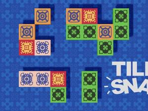 シンプルなパズルゲームアプリ「Tile Snap」