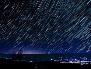 一眼カメラで星空を軌跡撮影!PENTAX編