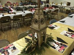 Clara Barton Table Center Piece