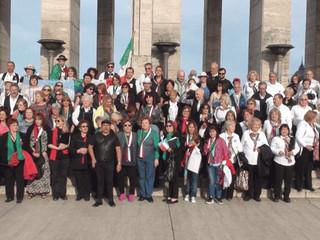 "Participó del III Encuentro ""Italia canta en Rosario"" El Coro Tricolore - Gli Amici, prese"