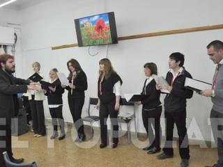 El Coro de la Sociedad Italiana de Olavarría brindó un concierto