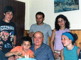 Festejando cumpleaños y Aniversario