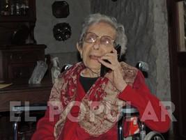 Alicia Degiovanni de Baraboglia cumplió 100 años