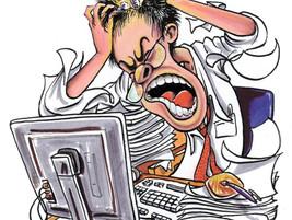 Estrés Laboral = Reacción Depresiva