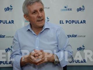 El candidato a diputado para el Parlamento Italiano Nicolás Moretti visitó Olavarría