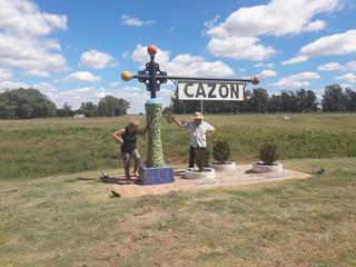 Visitamos Cazon y Colonia Broggi