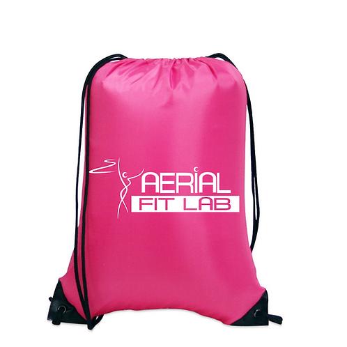 AFL Logo Nylon Drawstring Back Pack