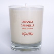 Bougie végétale 180g ORANGE CANNELLE