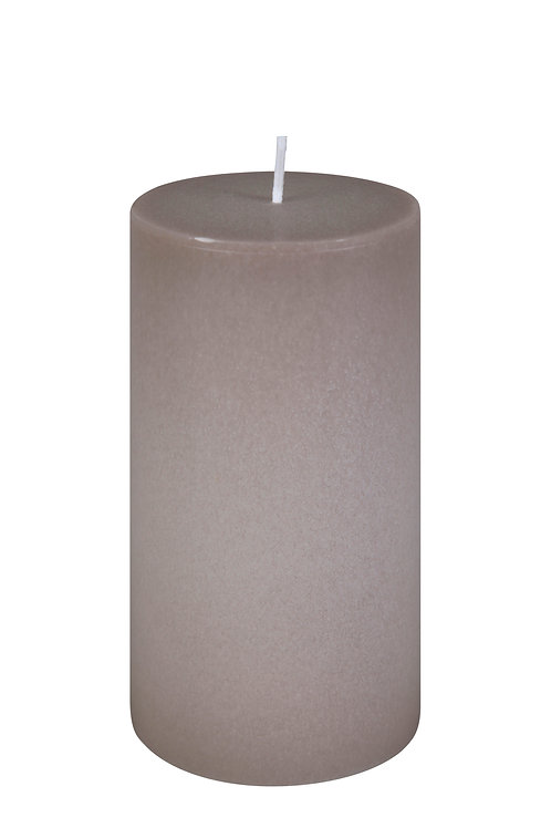 BOUGIE CylindreTAUPE 15 cm
