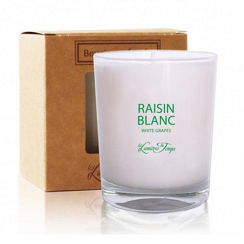 Bougie végétale 180g RAISIN BLANC