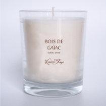 Bougie végétale 180g BOIS DE GAIAC.