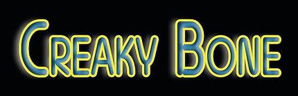 SMALL CREAKY BONE  - WORDS ONLY BLACK BA