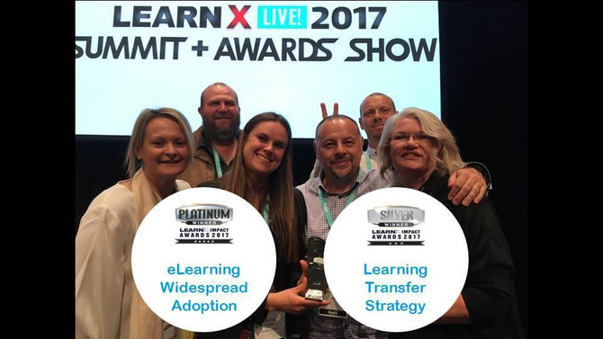 Redpoint Consulting & nbn wins two LearnX Awards