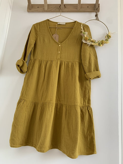 Robe  Femme MOUTARDE
