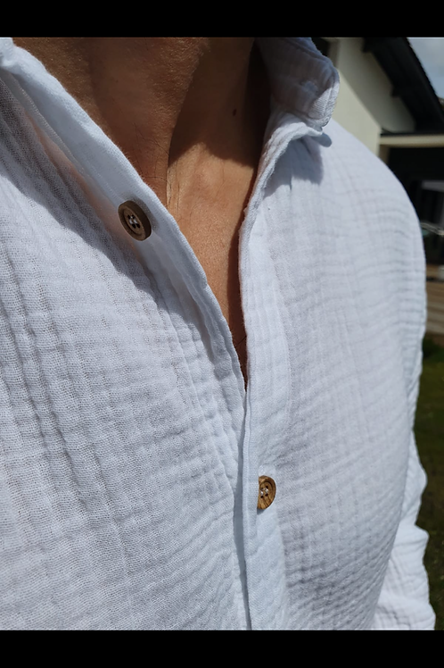 Chemise homme DIEGO colori blanc