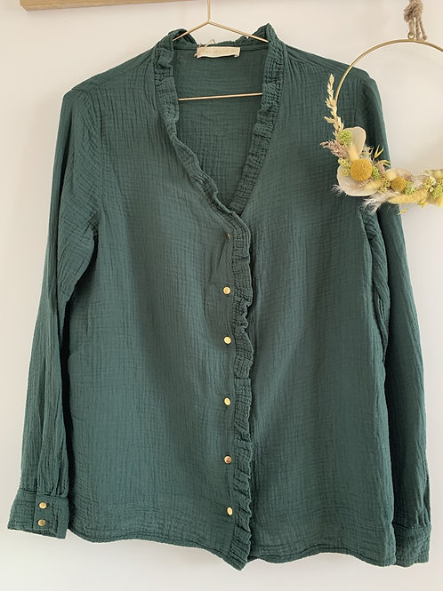 Blouse FrouFrou Femme GREEN FOREST