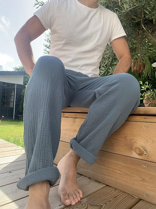 Pantalon Homme CARLOS colori Ciel