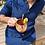 Thumbnail: Chemise homme DIEGO colori bleu marine