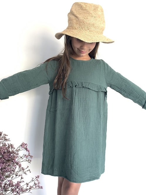 Robe Fille GREEN FOREST